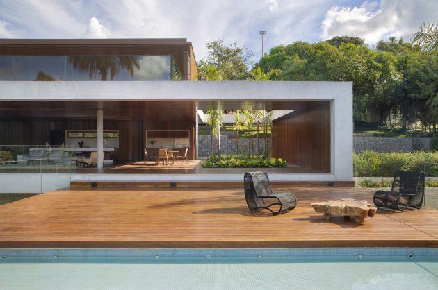 EP House by Otto Felix Studio in Braganca Paulista, Brazil