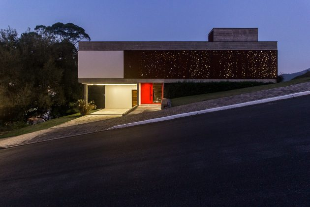 FY House by PJV Arquitetura in Jaragua do Sul, Brazil