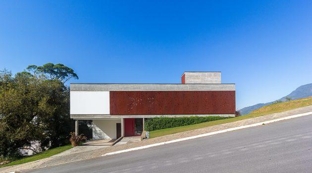 FY House by PJV Arquitetura in Jaragua do Sul, Brazil