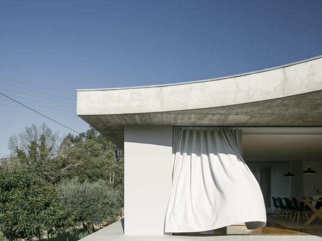 Gloma House by Bruno Dias Arquitectura in Leiria, Portugal