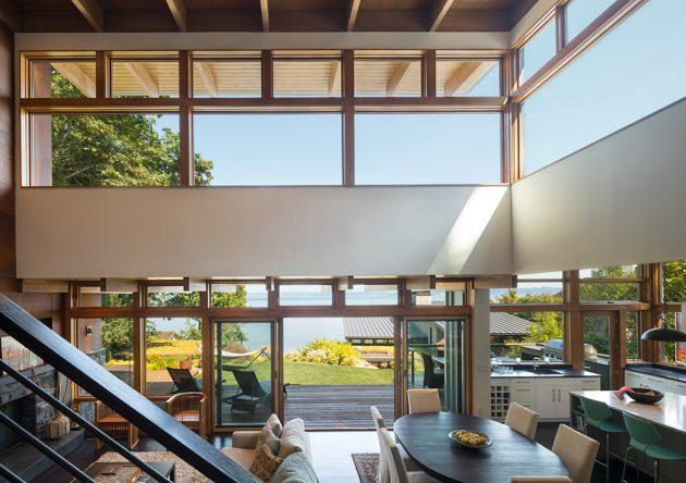 Island Retreat Home by Coates Design on Bainbridge Island, Washington