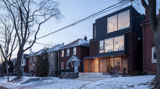 Mid-Town Triplex by Studio JCI in Toronto, Canada