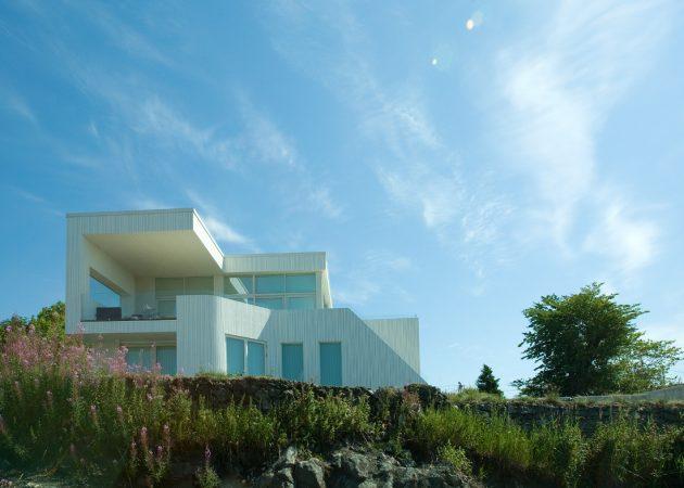 Villa G by Saunders Architecture in Bergen, Norway