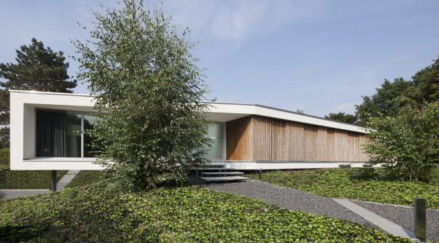 Villa Spee by Lab32 Architecten in Haelen, The Netherlands