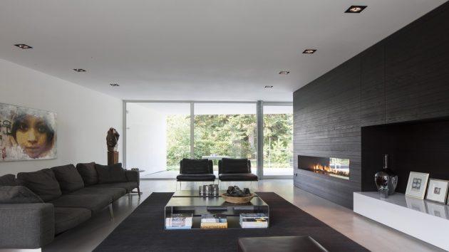 Villa Spee by Lab32 Architecten in Haelen, The Netherlands