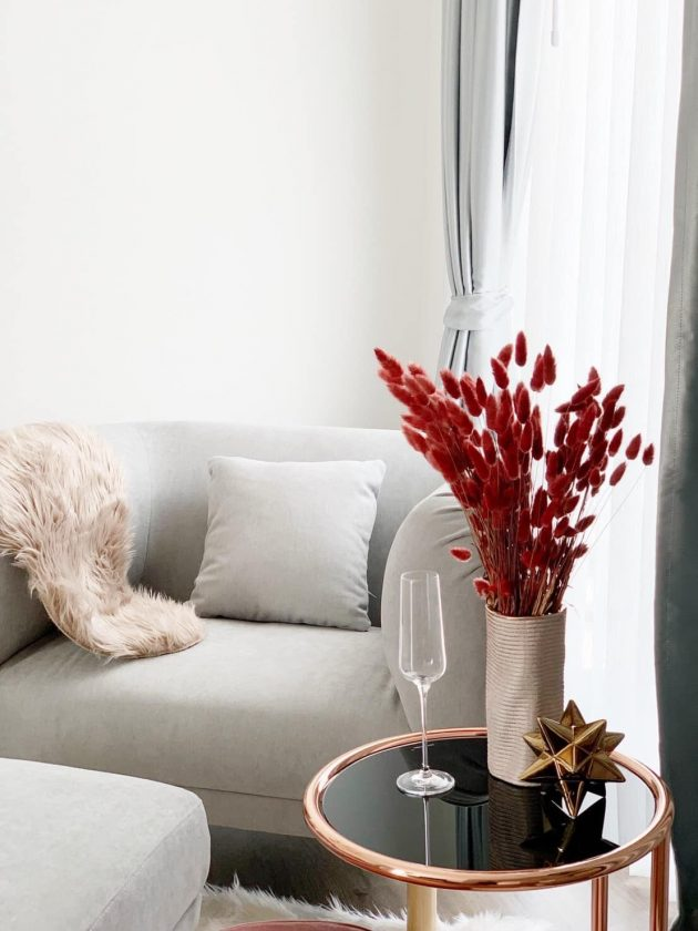 Decor Ideas With Flowers for the Living Room