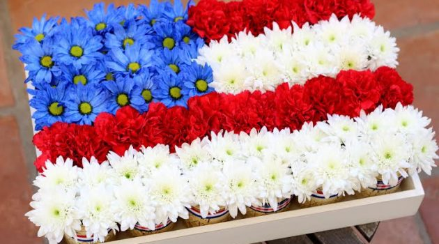 15 Eye-Catching DIY Patriotic Centerpiece Crafts For 4th of July