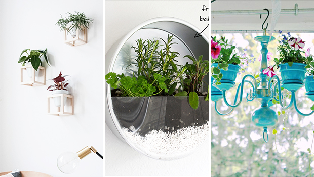 15 Lively DIY Planter Ideas That Will Refresh Your Spring Decor