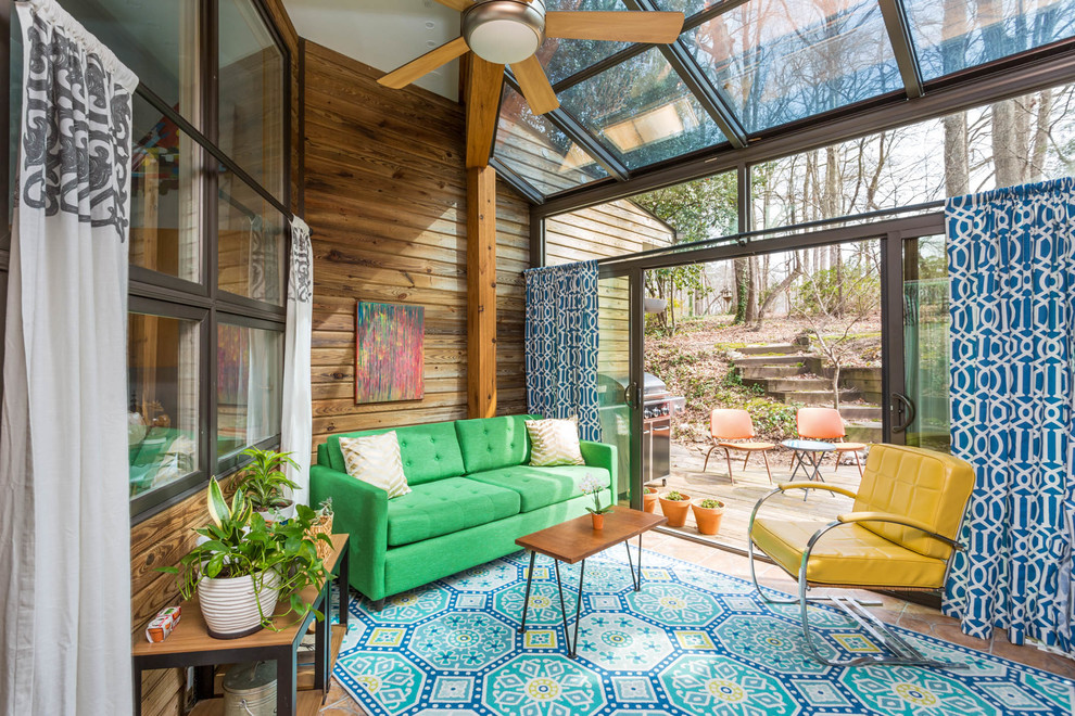 16 Breathtaking Mid Century Modern Sunroom Designs For Everyday Use