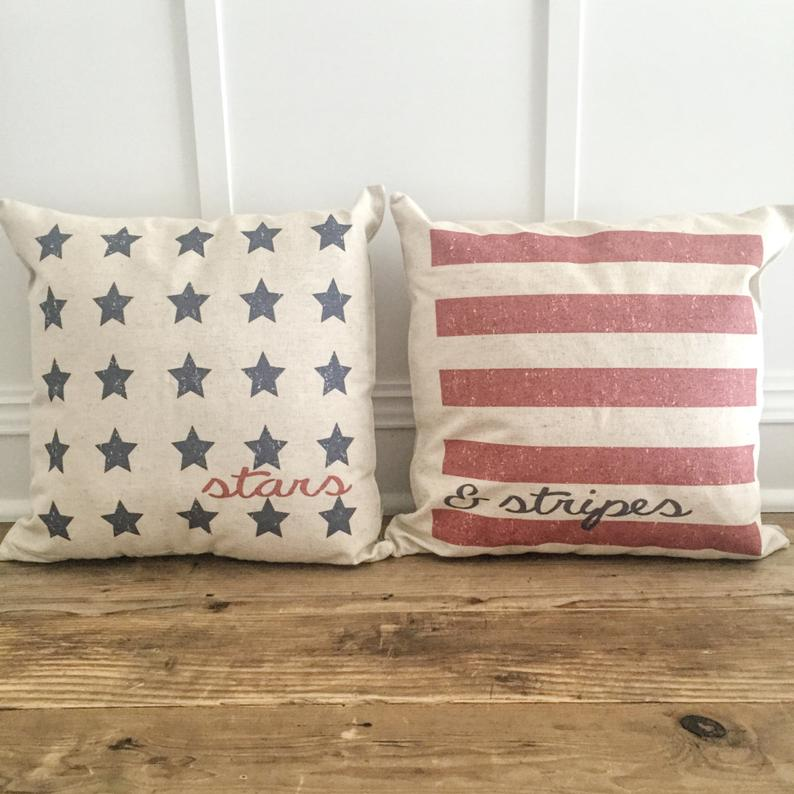 16 Eye-Catching 4th of July Pillow Decor Ideas For Your Home
