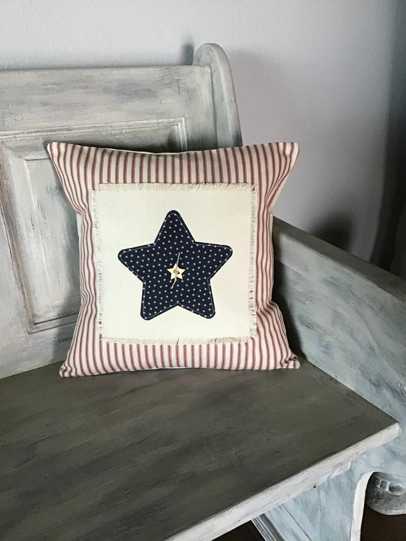 16 Eye Catching 4th of July Pillow Decor Ideas For Your Home