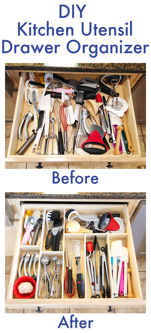 16 Life Saving DIY Kitchen Drawer Organization Ideas