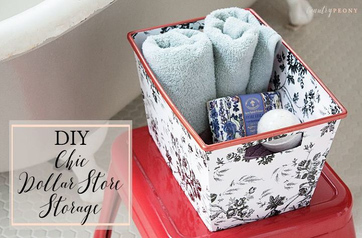 17 Clever DIY Organization Ideas That Utilize Dollar Store Storage Bins
