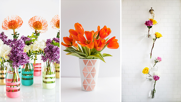 17 Wonderful DIY Vase Designs To Celebrate Spring In Your Home