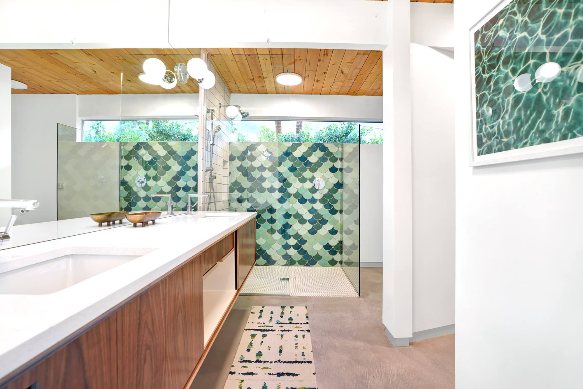 20 Impressive Mid-Century Modern Bathroom Designs You Must See