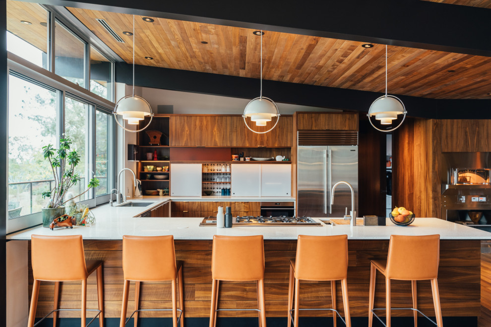 20 Mind-blowing Mid-Century Modern Kitchen Designs You Will Obsess Over