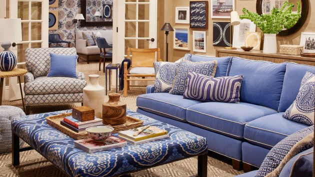The Most Beautiful Classic Coastal Style in Indigo