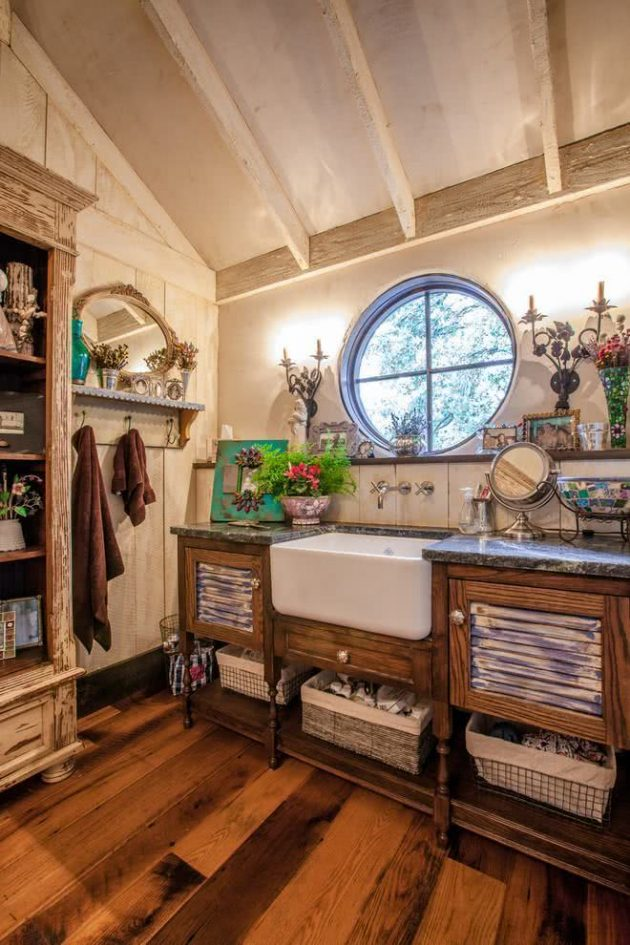Inspiring 6 Models of Country Houses and Their Interior Decoration