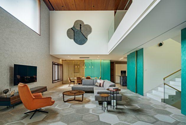Badari Residence by Cadence Architects in Bengaluru, India