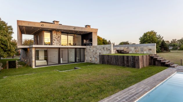 Golf House by Adolfo Bavio Arquitectos in Pilar, Argentina