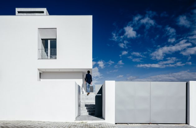 Lot 31 House by ADOFF Arquitetos in Mirandela, Portugal