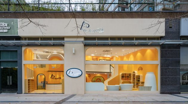 Pony Running Daycare Showroom by VMDPE Design in Shenzhen, China
