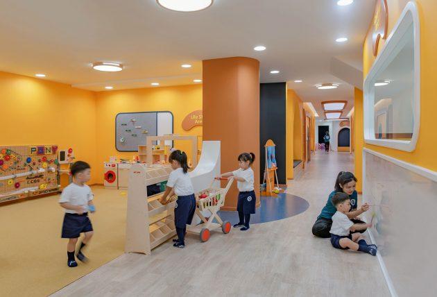 Pony Running Daycare Showroom by VMDPE Design in Shenzhen, China