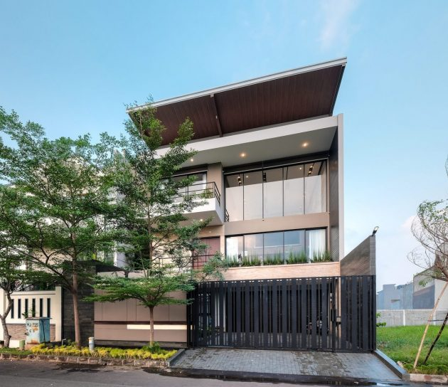 R+E House by DP+HS Architects in Jakarta, Indonesia