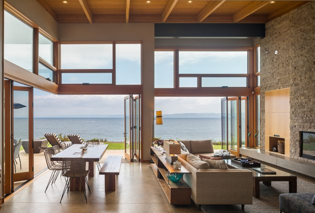Seaview Escape by Coates Design Architects in Washington, USA