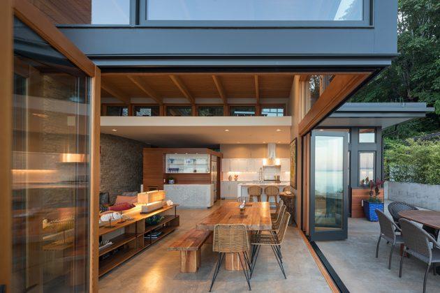 Seaview Escape by Coates Design Architects in Washington, USA