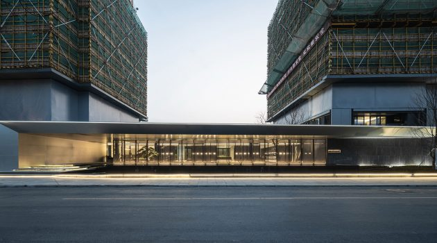 """The """"Jin"""" Life Aesthetics Hall of Greentown's Magnificent Residence,Hangzhou, China"""