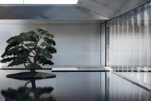 The Jin Life Aesthetics Hall of Greentown's Magnificent Residence,Hangzhou, China