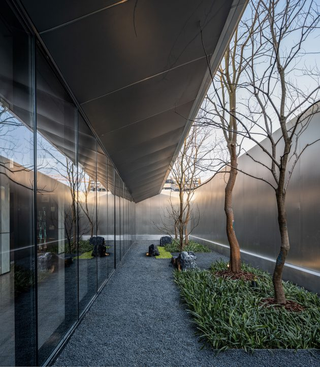 "The ""Jin"" Life Aesthetics Hall of Greentown's Magnificent Residence,Hangzhou, China"