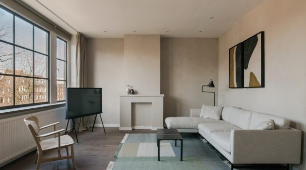 The Nieuw Apartment by Nieuw & Ibiza Interiors in Amsterdam