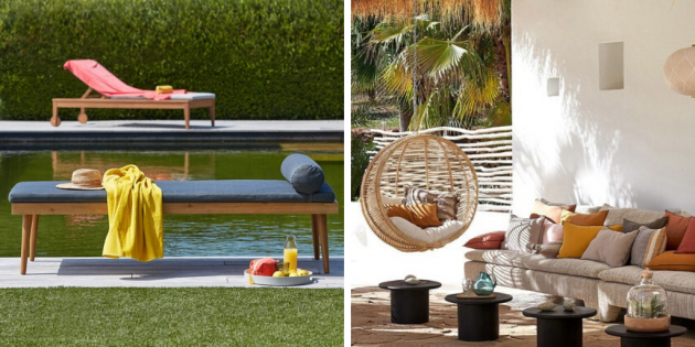 3 Outdoor Decorative Atmospheres With La Redoute