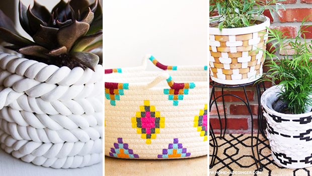 15 Creative DIY Basket Projects You Will Have Fun Crafting