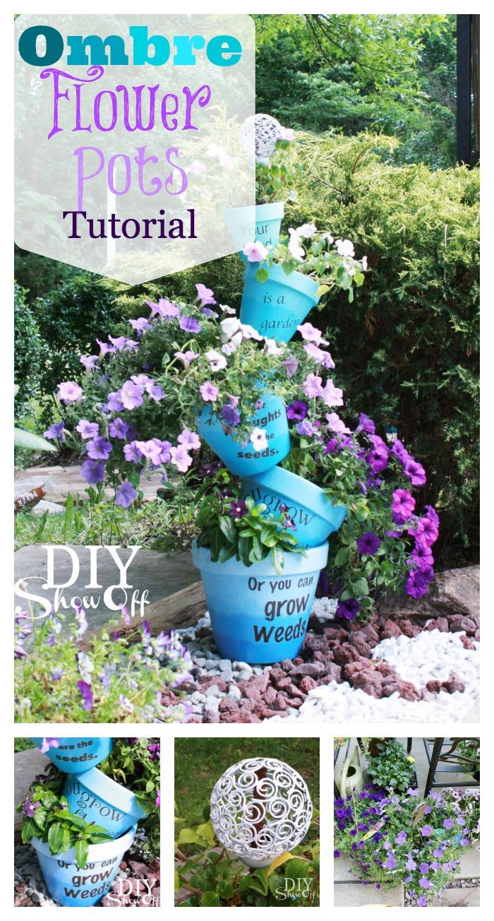 15 Wonderful DIY Garden Decor Ideas You Can Craft From Terracotta