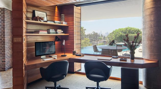 16 Astounding Mid-Century Modern Home Office Interiors For Peak Productivity And Comfort