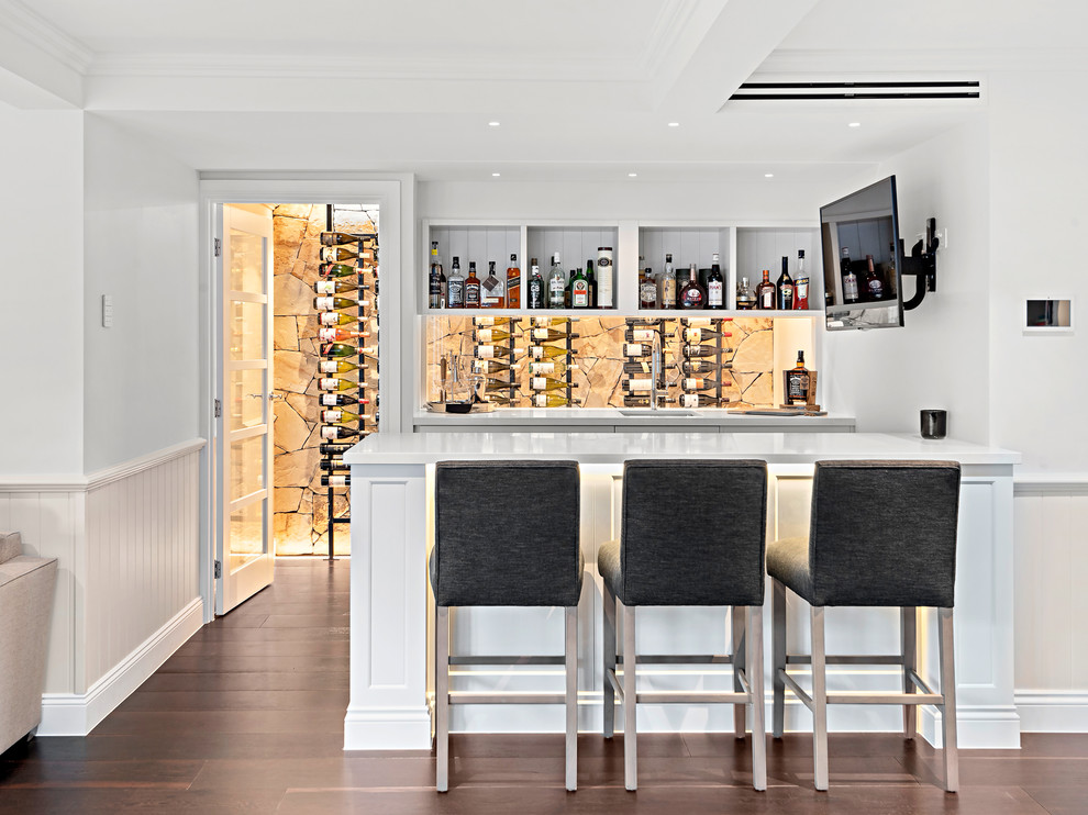 16 Sophisticated Mid-Century Modern Wine Cellar Designs