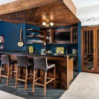 16 Stylish Mid-Century Modern Home Bar Designs That Abound With Elegance