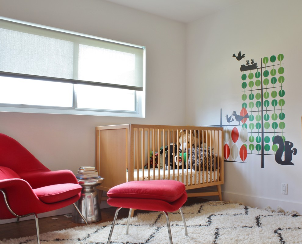 16 Wonderfully Cute Mid-Century Modern Nursery Ideas