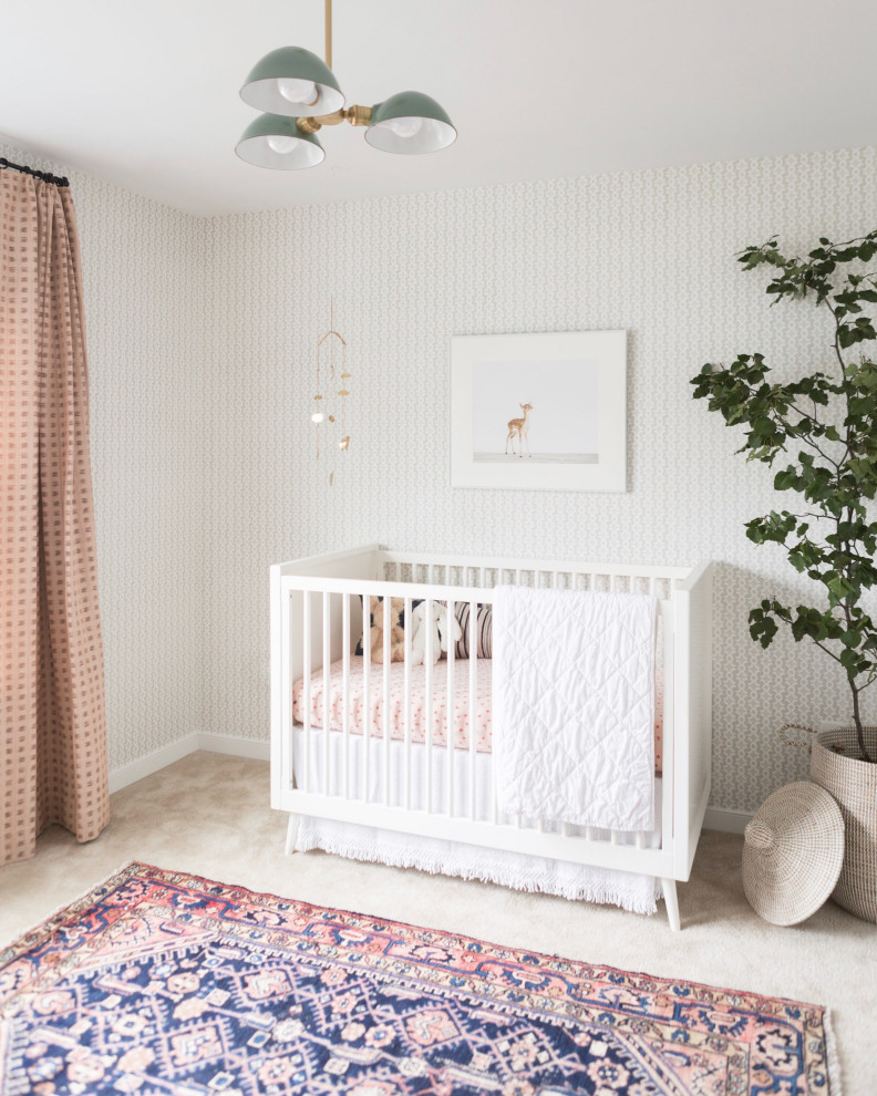 16 Wonderfully Cute Mid Century Modern Nursery Ideas