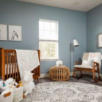 16 Wonderfully Cute Mid-Century Modern Nursery Ideas