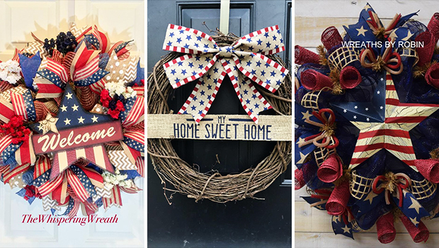 17 Incredible 4th of July Wreath Ideas You're Gonna Love