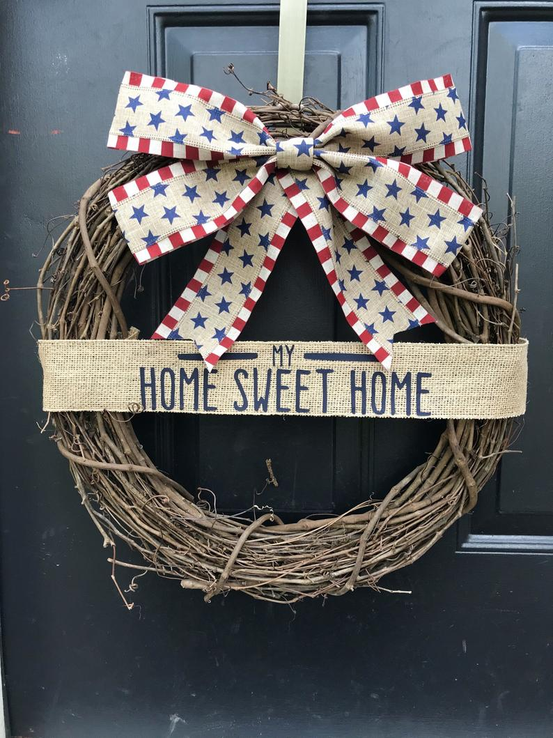 17 Incredible 4th of July Wreath Ideas Youre Gonna Love