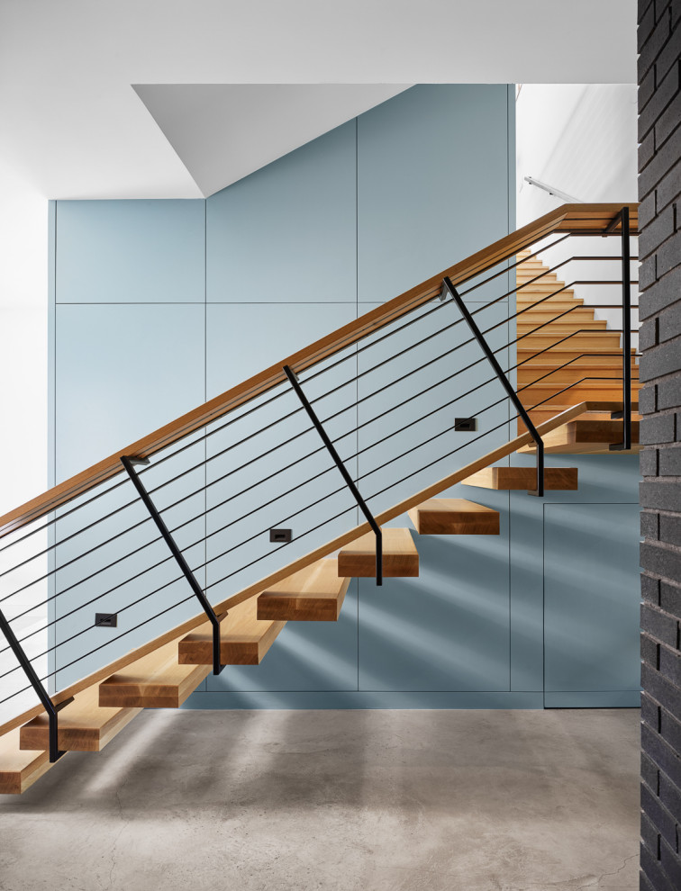 20 Outstanding Mid Century Modern Staircase Designs For Inspiration