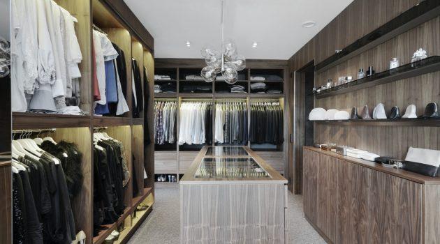 20 Practically Elegant Mid-Century Modern Closet Designs