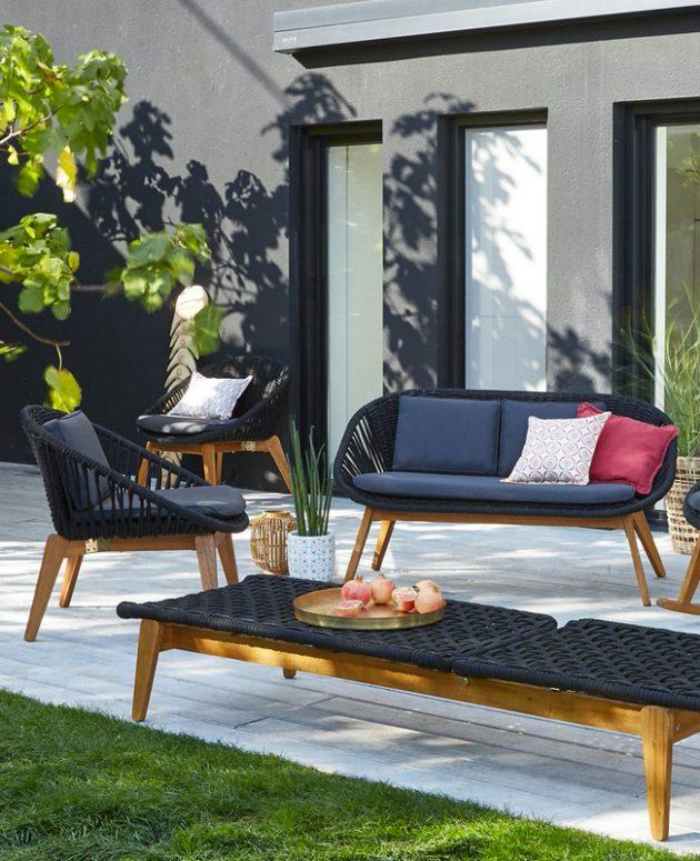 A Modern Garden Furniture for the Summer