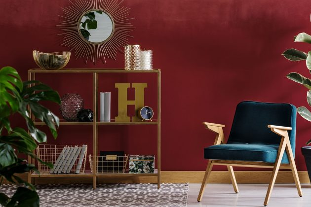 Would You Go For a Dark Shade in the Living Room?
