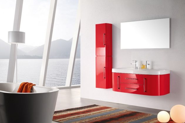 Color on the Bathroom Furniture - Yes or No?